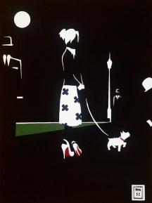 """Elloise"". 24"" x 18"". Acrylic on Canvas."
