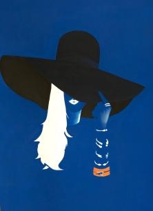 "Veronica. 30x40"" Acrylic on canvas"